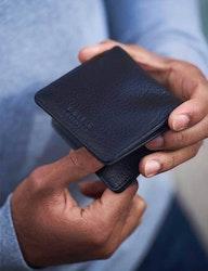 Vik-plånbok Alex naturgarvat läder