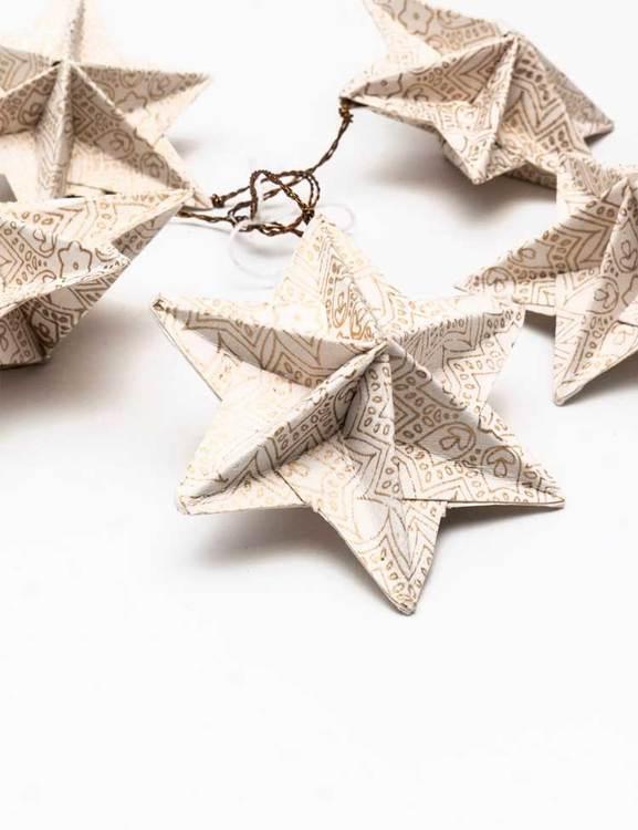 Granpynt stjärnor fair trade
