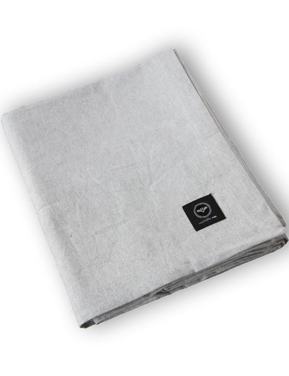 Bordsduk ljusgrå, återvunnet material