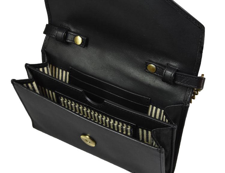 Kuvertväska blir till plånbok