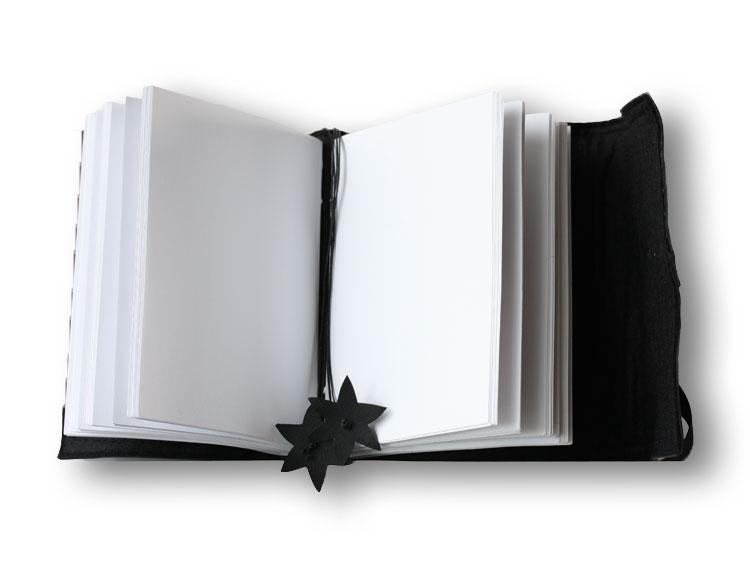Stor anteckningsbok, återvunnet gummi
