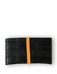 Kortfodral orange, återvunnet gummi