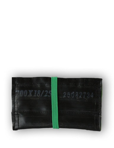 Kortfodral grön, återvunnet gummi