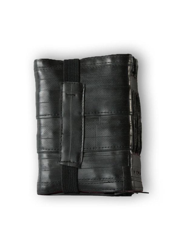 Återvunnet gummi från innerslangar - anteckningsbok