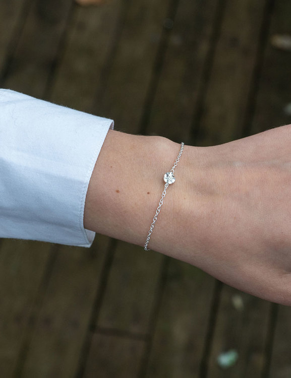 Armband Frö, återvunnet silver