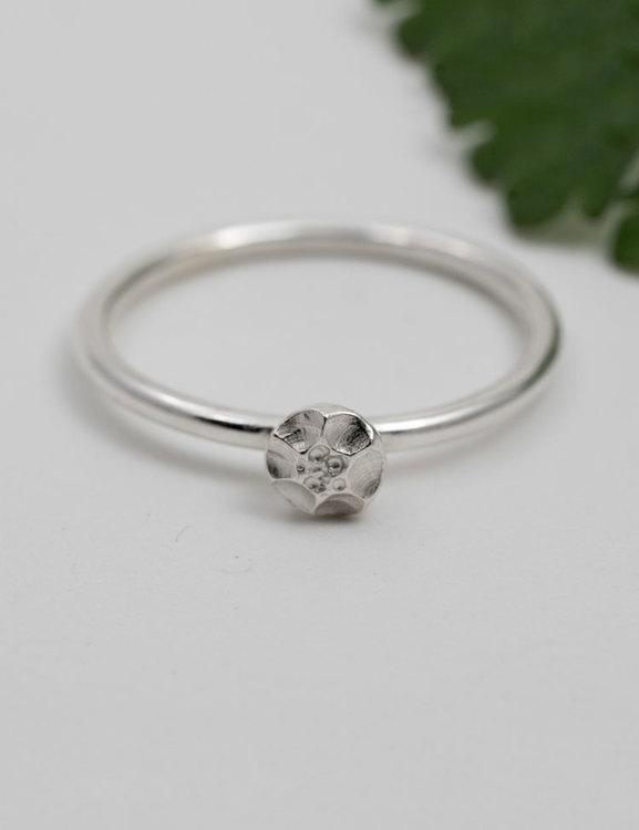 Handgjorda ringar, återvunnet silver