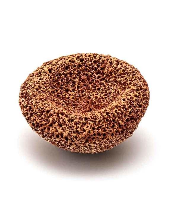 Fotskrubb i keramik, fair trade