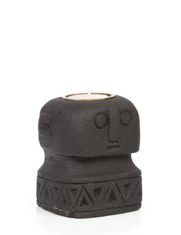 Ljushållare sandsten staty