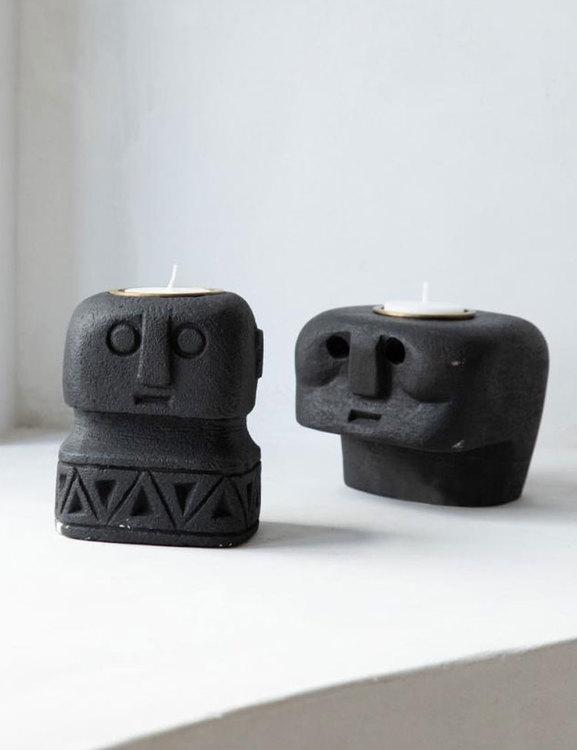 Statyer ljushållare