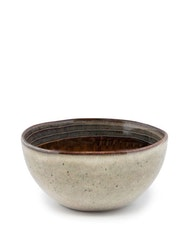 Handgjord frukostskål keramik