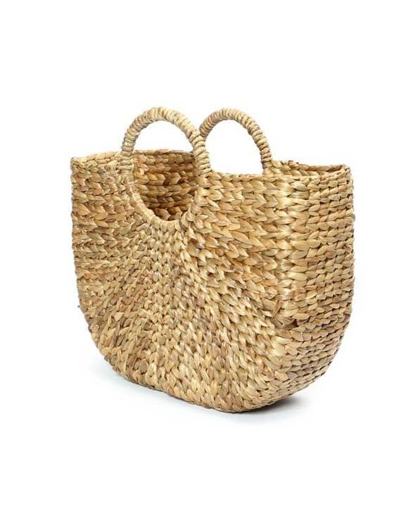Väska vattenhyacint, Bazar Bizar. Stråväska.