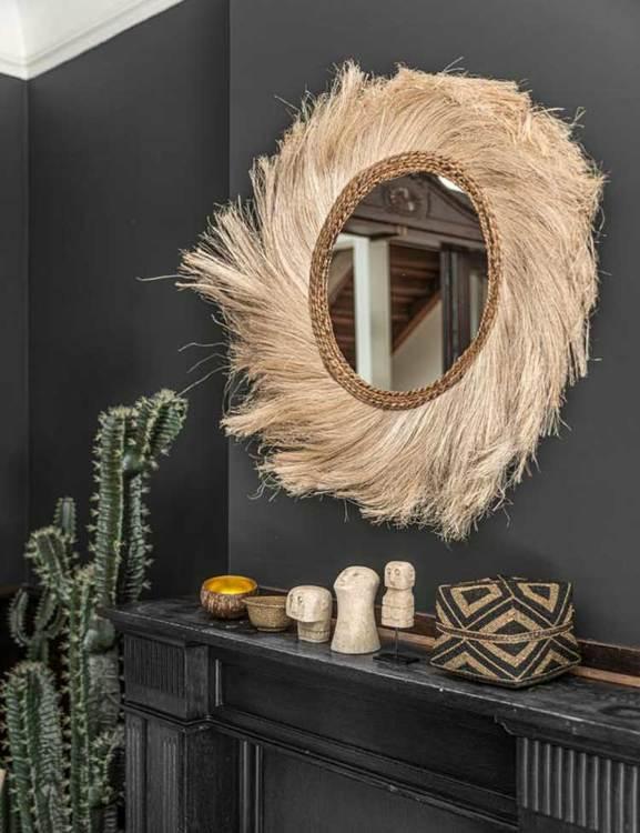 Spegel - väggdekoration.