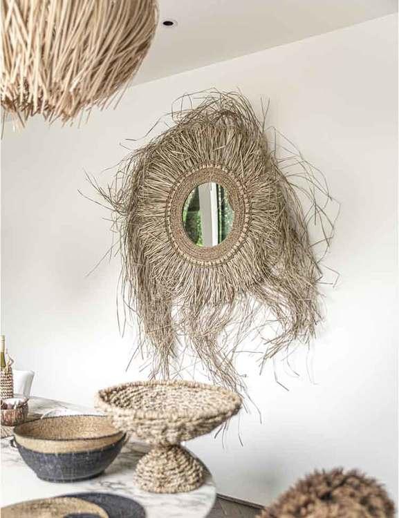 Spegel med bohokänsla