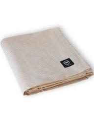 Bordsduk linnefärgad av återvunnen textil