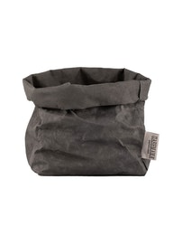 Uashmama förvaringspåse papper, mörkgrå