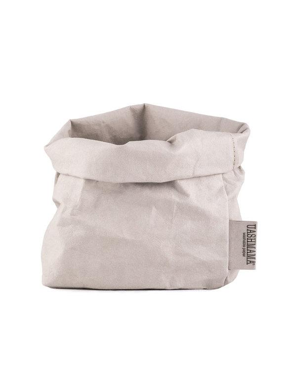 Uashmama förvaringspåse grå medium