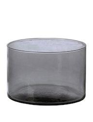 Skål återvunnet glas, mauve