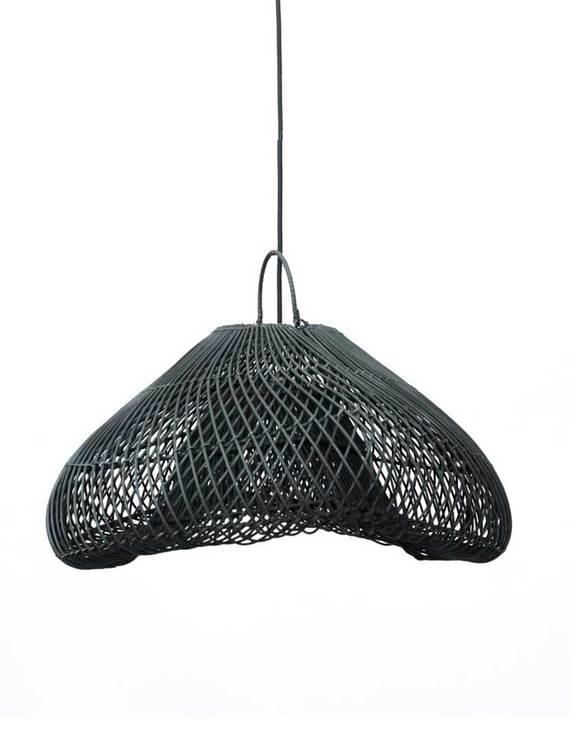 Modern rottinglampa, tak.