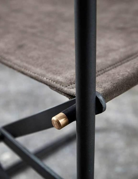 Detalj regissörsstol, dansk design