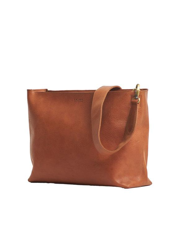 O My Bag, brun stor väska