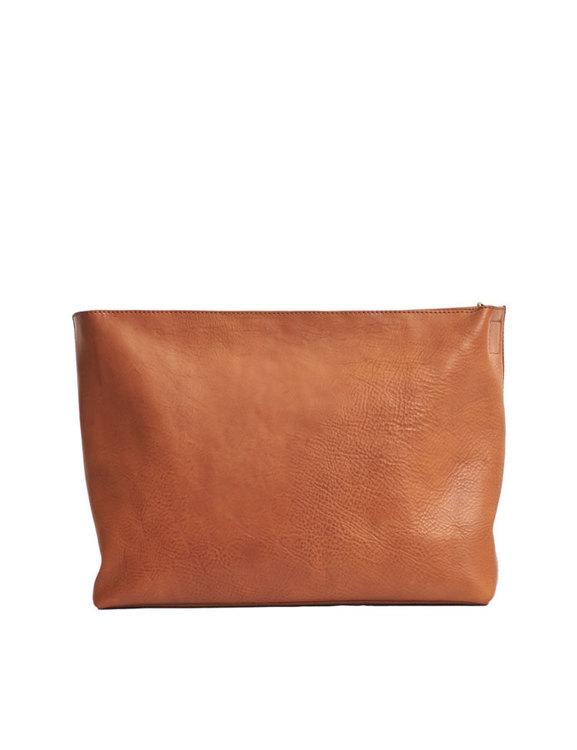 Vegetabliskt garvad väska, O My Bag