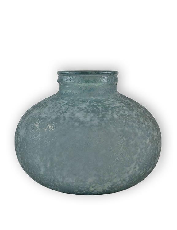 Globvas Palma, återvunnet glas