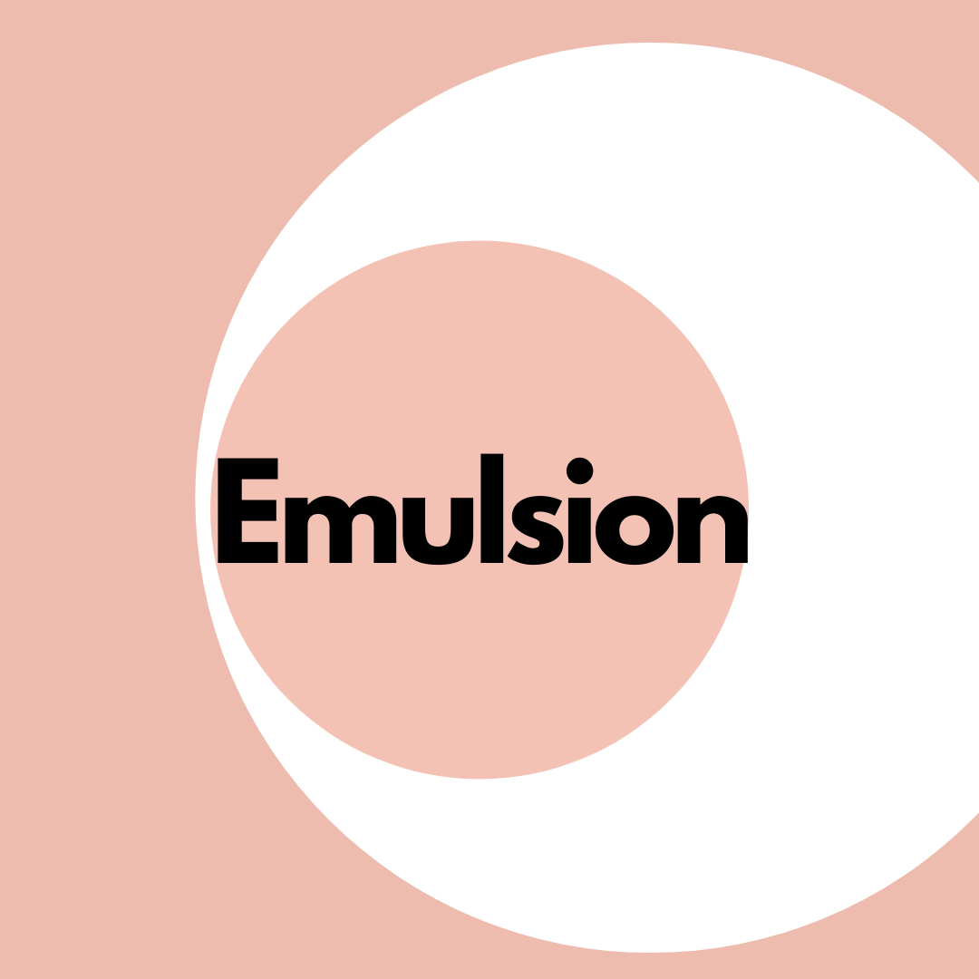 Emulsion - Bonnybonny.se
