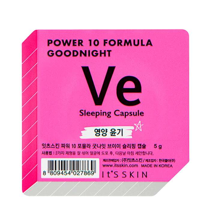 Ansiktsmask - It´s Skin Power 10 Formula Goodnight Sleeping Capsule VE