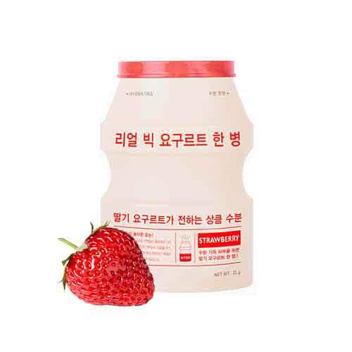 A´PIEU Real Big Yogurt sheet mask Strawberry