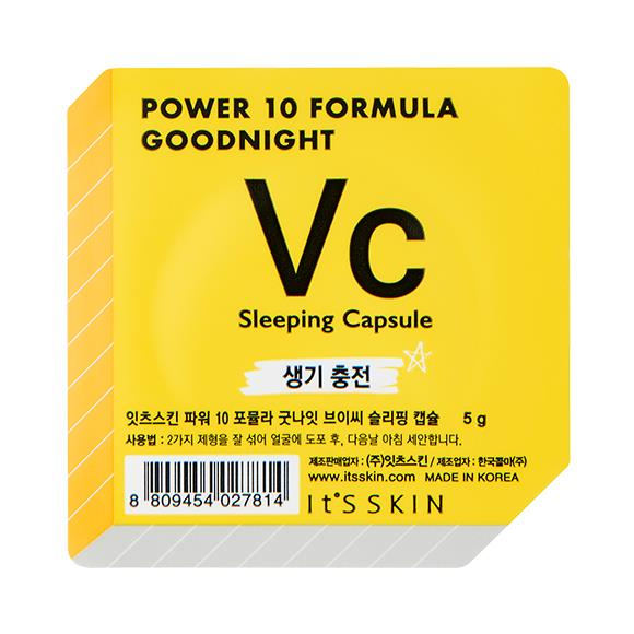 It´S SKIN Power 10 Formula Goodnight Sleeping Capsule VC