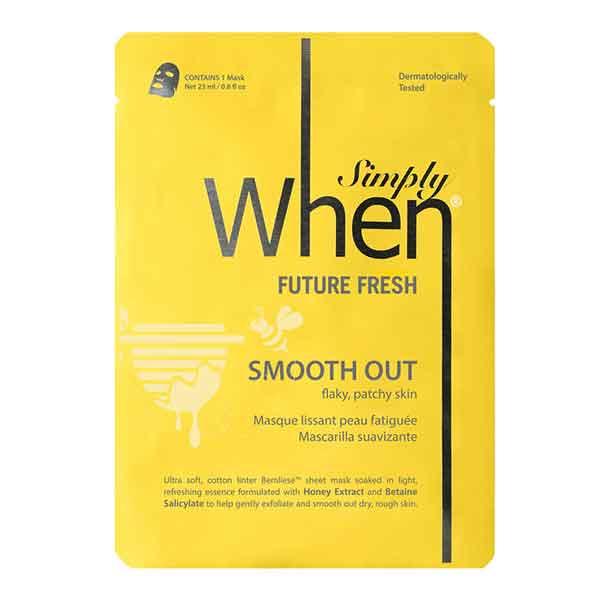 Simply WHEN Future Fresh Smooth Out Sheet Mask, kort datum - 50% rabatt!