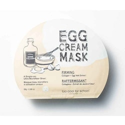 Too Cool For School Egg Cream Firming Facial Mask