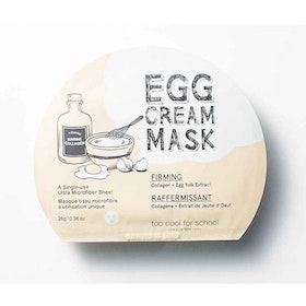 Ansiktsmask - Too Cool For School Egg Cream Firming Facial Mask