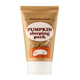 Ansiktsmask - Too Cool For School Pumpkin sleeping pack