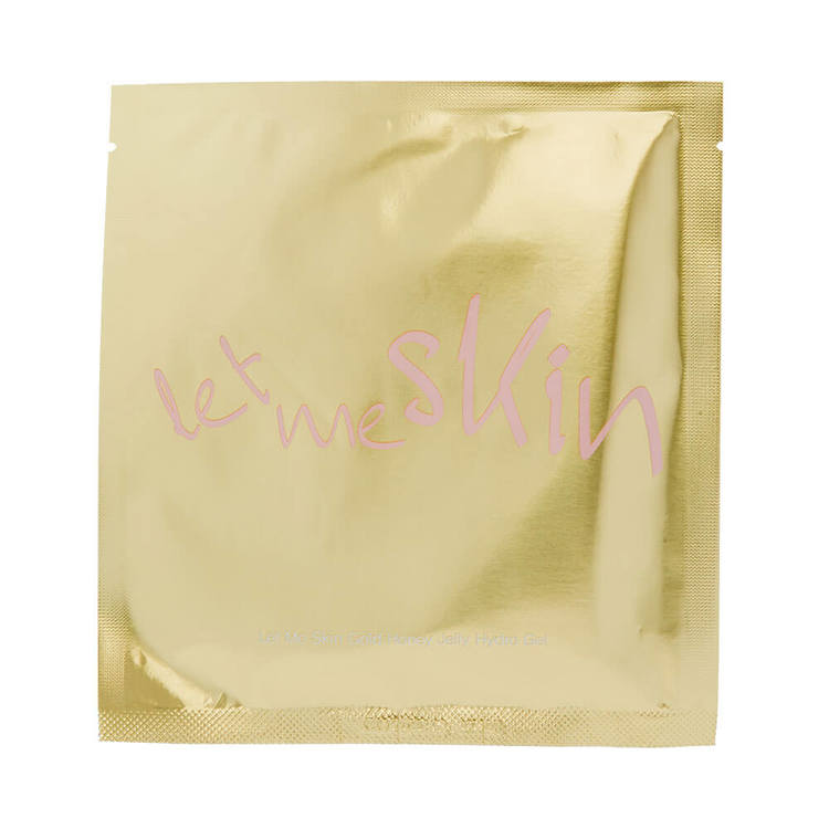 Ansiktsmask - LET ME SKIN Gold Honey Jelly Hydrogel Mask