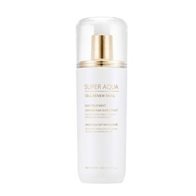 MISSHA Super Aqua Cell Renew Snail Skin Treatment Smoothing Booster