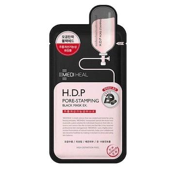 Mediheal H.D.P Pore-Stamping Black Mask
