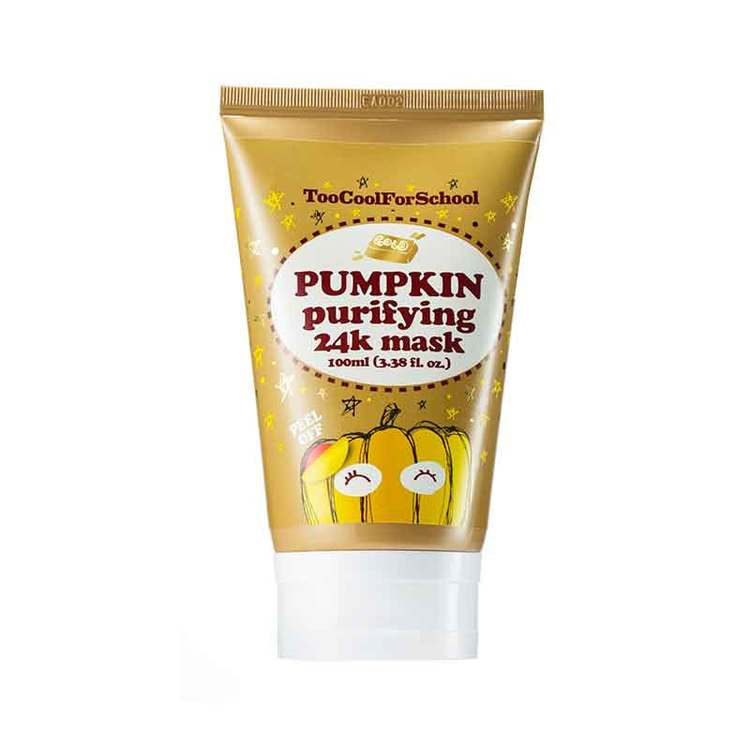 Ansiktsmask - Too Cool For School Pumpkin Purifying 24K Mask