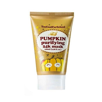 Too Cool For School Pumpkin Purifying 24K GOLD Mask - kort datum 70% rabatt