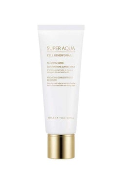 Nattmask: MISSHA Super Aqua Cell Renew Snail Sleeping Mask