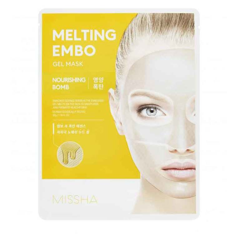 Ansiktsmask - MISSHA Embo Gel Mask Nourishing Bomb