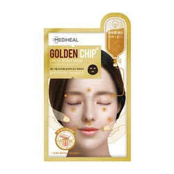 MEDIHEAL Circle Point Golden Chip Mask