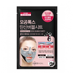 MEDIHEAL Mogongtox Soda Bubble Sheet Mask