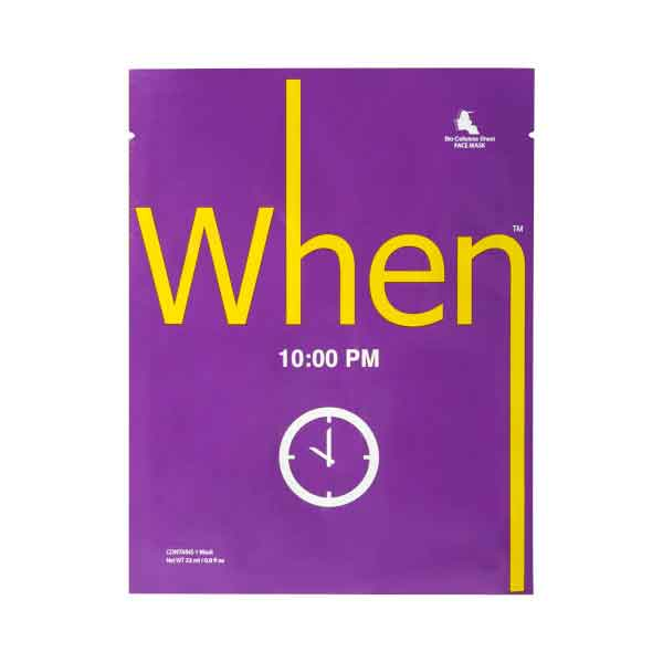 When 10:00 PM Sheet Mask
