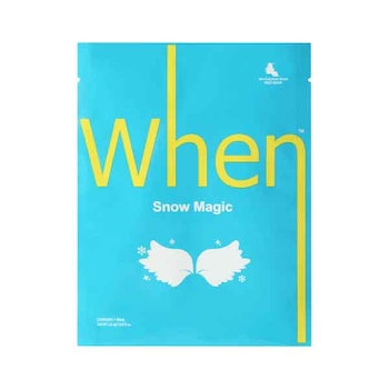 WHEN Snow Magic Sheet Mask