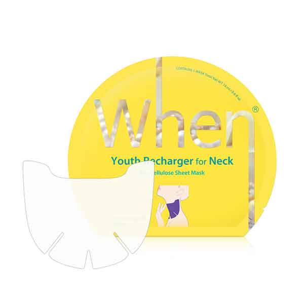 When Youth Recharging for Neck Bio Cellulose Sheet Mask