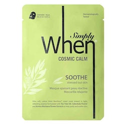 Simply WHEN Cosmic Calm Soothe Sheet Mask
