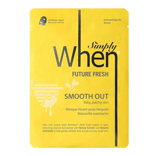 Simply WHEN Future Fresh Smooth Out Sheet Mask