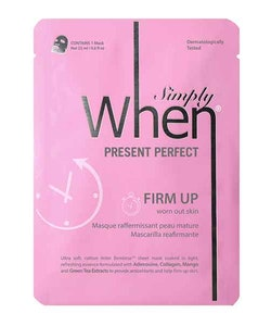 Simply WHEN Present Perfect Firm Up Sheet Mask
