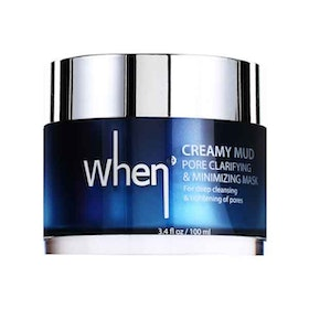 When Creamy Mud Pore Clarifying & Minimizing Mask